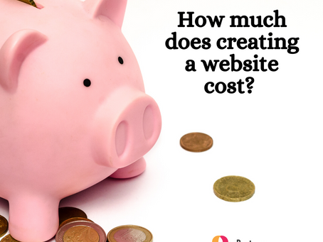 How much does creating a website cost?