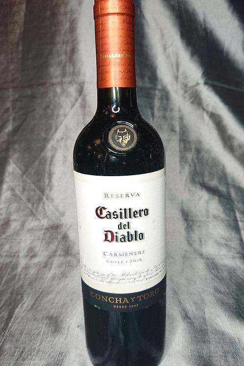 """DO Casillero del Diablo - Concha Torro - Reserva - """"carmenere"""""""