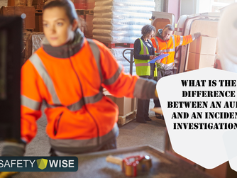 What is the difference between an Audit and an Incident Investigation?