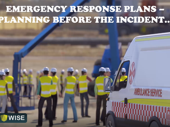 Emergency Response Plans- Planning Before the Incident