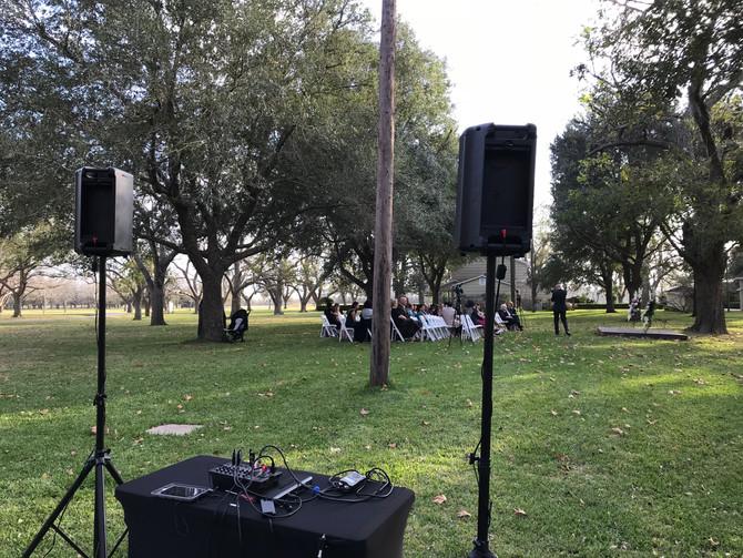 Wedding DJ at The Orchard at Caney Creek Wharton, TX