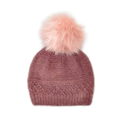 Cashmere Beanie with Pompon - Eiger