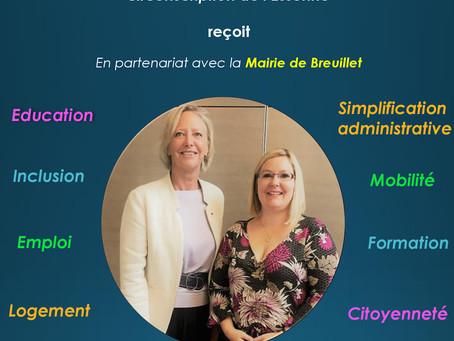 Rencontre avec Sophie Cluzel le 27 septembre à Breuillet