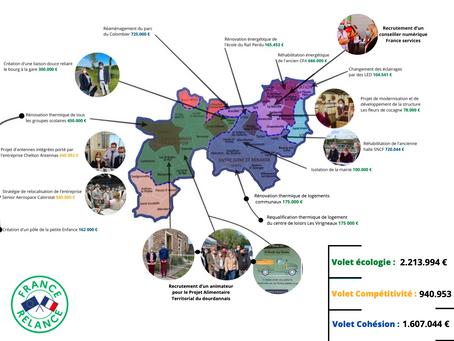 Le Plan France Relance de la 3e circonscription de l'Essonne
