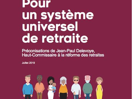 Le rapport Delevoye préconise un système de retraite universel plus juste et plus solidaire
