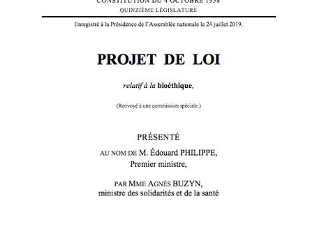 Une loi sur la bioéthique, de nouveaux droits et la préservation de nos équilibres éthiques