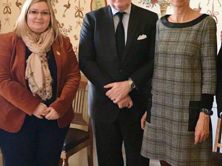 Rencontre avec son excellence l'ambassadeur de France au Brésil