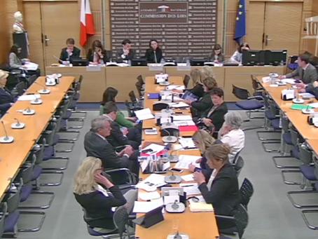Ma question à Marlène Schiappa du 16/04/18 en faveur de l'imprescribilité des crimes pour mineurs
