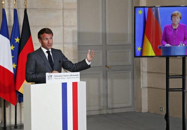 Conférence de presse commune d'Angela Merkel et Emmanuel Macron : ce qu'il faut retenir