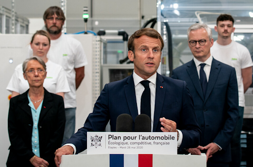 Automobile : Plan de soutien et de relance de 8 Md€ présenté par le Président de la République