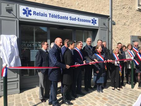 De l'Assemblée au territoire: inauguration du centre de télémédecine de Moigny-sur-Ecole
