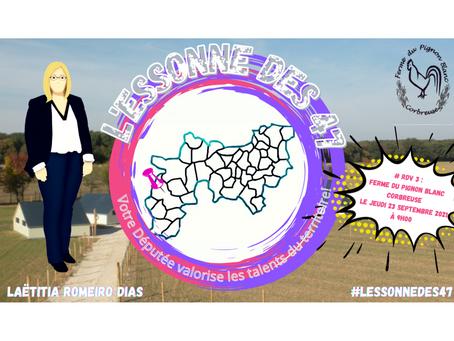 L'Essonne des 47 : Immersion à la Ferme du Pignon blanc de Corbreuse !