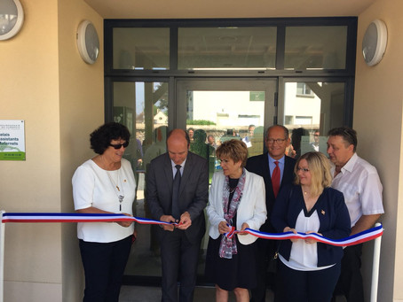 Inauguration du Relais des Assistants Maternels à Dourdan