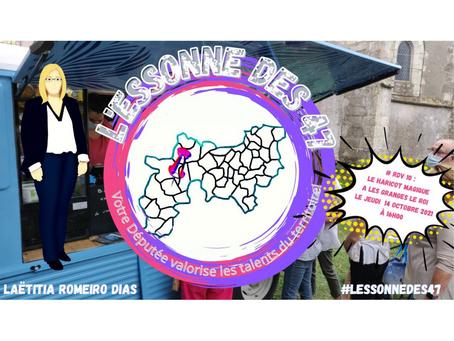 L'Essonne des 47 : Immersion au Haricot Magique des Granges-le-Roi !