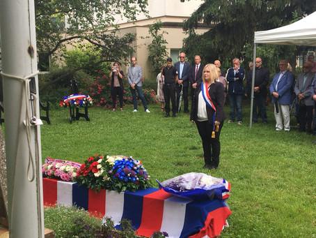 Commémorations de l'appel du 18 juin 1940 au Plessis-Pâté