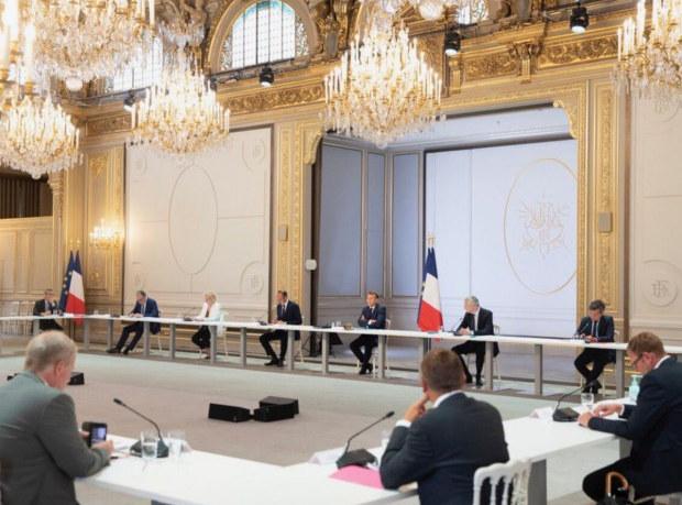 Réunion du Président de la République avec les partenaires sociaux (4 juin)