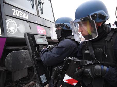 Exercice de sécurité civile « attentat dans un train »