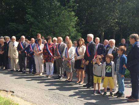 Allocution aux commémorations de la bataille de Folleville (Breuillet)