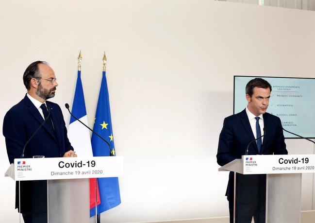 Conférence de presse du Premier ministre et du Ministre des Solidarités et de la Santé