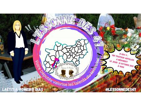 L'Essonne des 47 : Immersion culinaire auprès du Traiteur antillais de Mérobert !