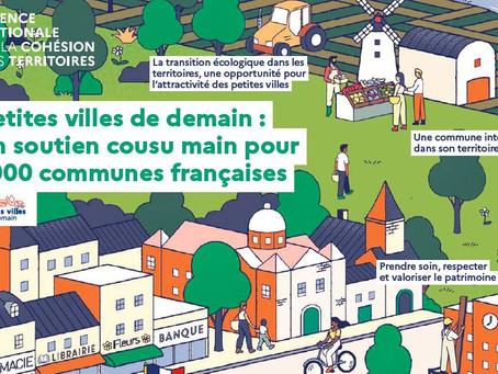 « Petites Villes de Demain » : l'État soutient le développement de nos territoires ruraux !