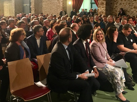 L'apprentissage et la formation professionnelle à Brétigny-sur-Orge avec Muriel Pénicaud