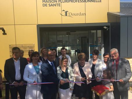 Inauguration de la maison pluriprofessionnelle de santé à Dourdan