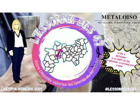 L'Essonne des 47 : Immersion auprès de METALOISO tailleur de pierre à La Forêt-le-Roi !