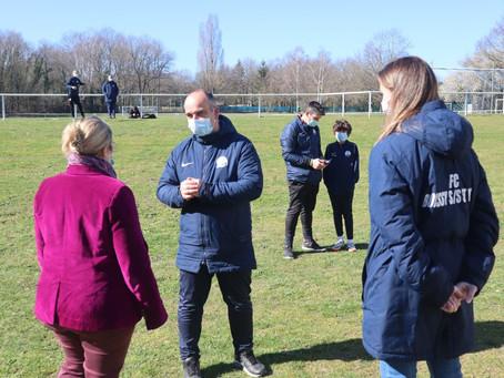 Rencontre avec le FC Boissy :                       la féminisation du sport en action !