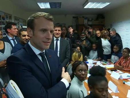 Emmanuel Macron au Grand Débat d'Evry Courcouronnes