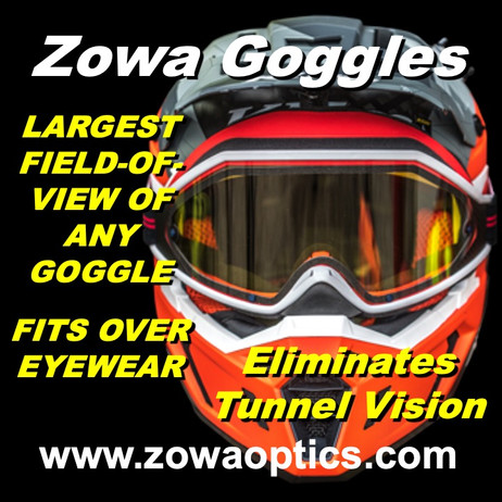 Spring is hear so upgrade your goggles to be able to enjoy the ride.