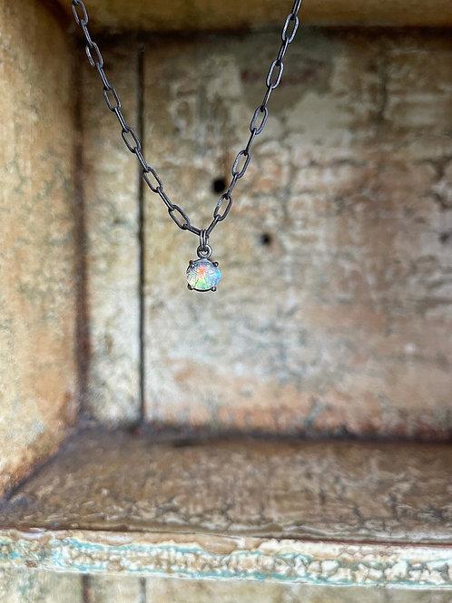 Rutilated Opal Talisman