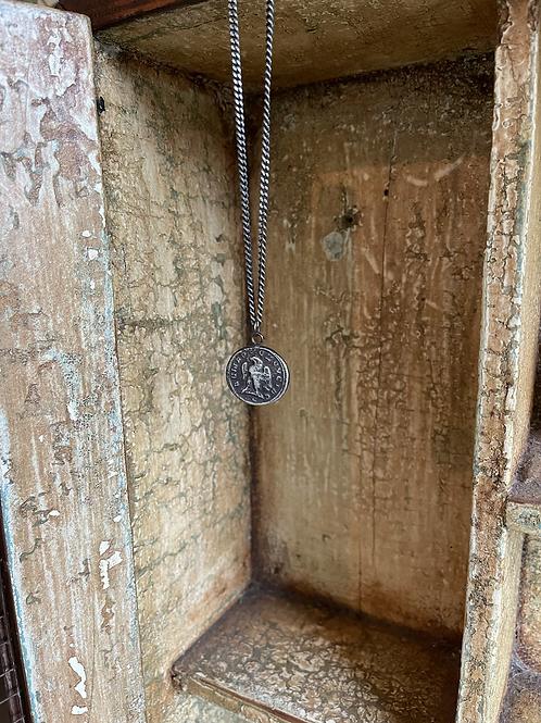 Eagle & Head Coin Talisman