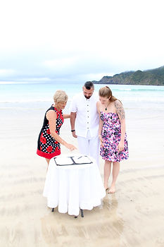 Robyn Richards Celebrant Bay of Islands Wedding Funerals