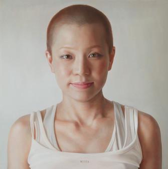 藤田貴也「portrait MIKA」41.0x41.0cm.jpg