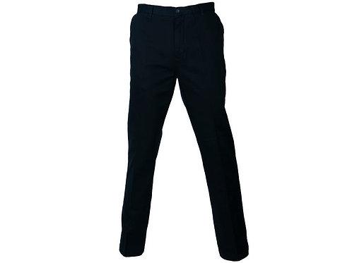 Pantalón sin pinzas gabardina hombre