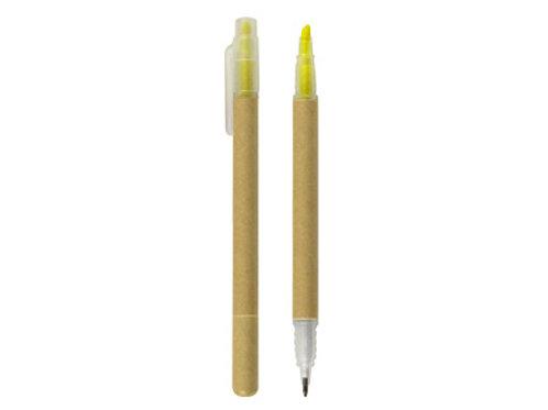 Bolígrafo/Destacador Ecológico