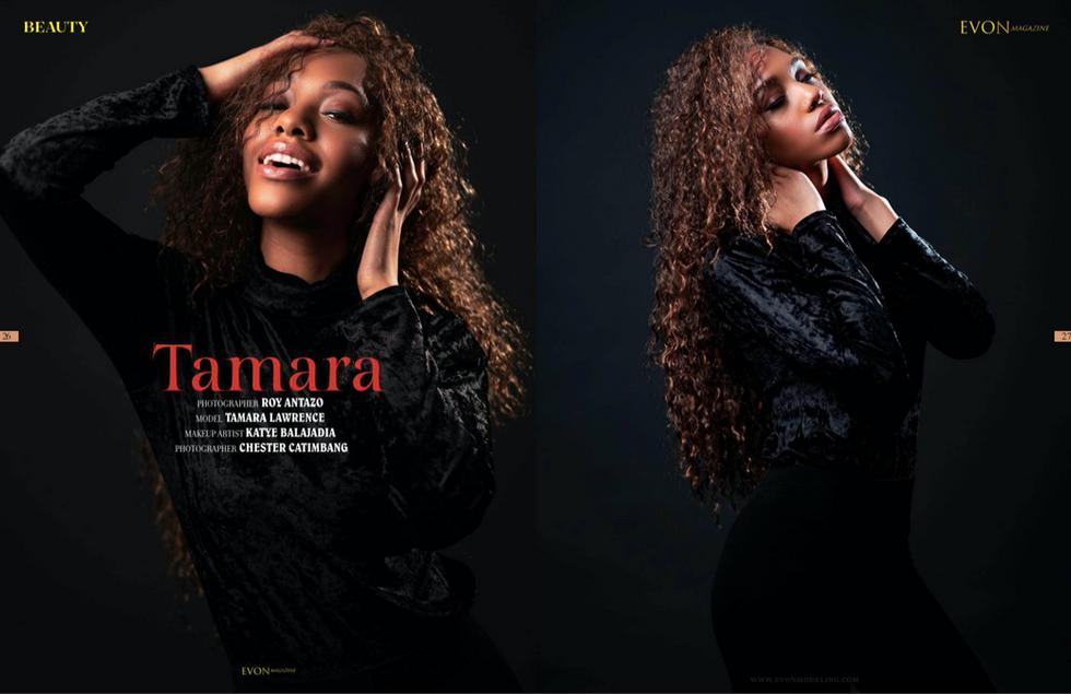 Evon Magazine Issue 05  Photographed by Roy Antazo