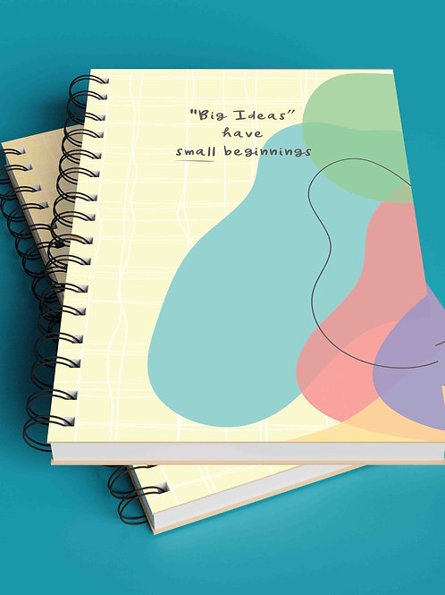The Versatile Planner for 26 weeks (undated) | Big Ideas - Wiro Binding