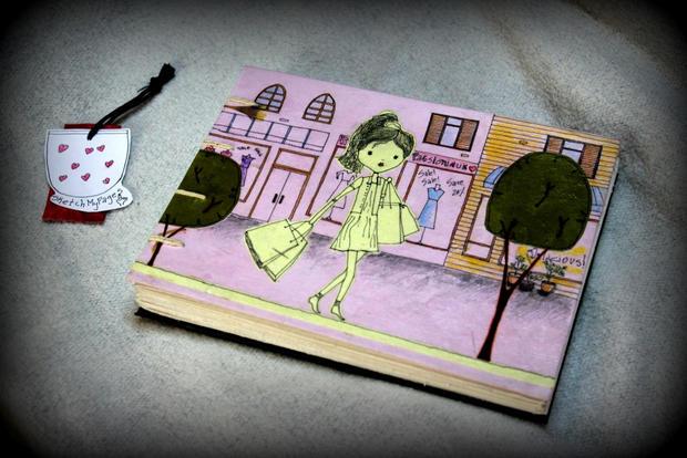 The girl who loves shopping