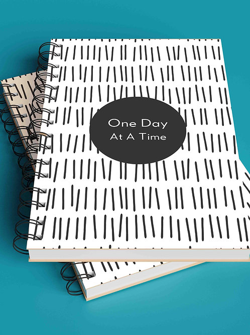 The Versatile Planner for 26 weeks (undated) | One Day At A Time - Wiro Binding
