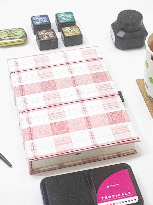 TVP 52 weeks (Undated) | Pink Checkered | Case Binding