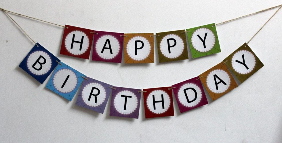 Happy Birthday - Banner