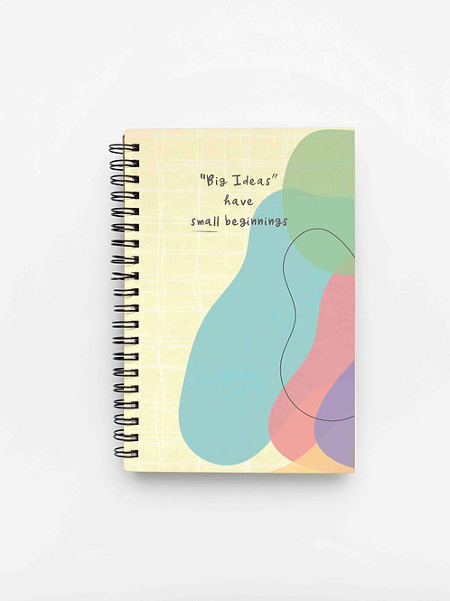 The Versatile Planner for 26 weeks Undated | Big Ideas | Soft Cover