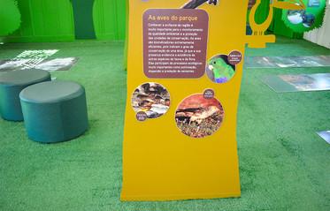 Exposição Temática Parque Estadual Carlos Botelho >> Executado pela Ecoview Sinalização Sustentável