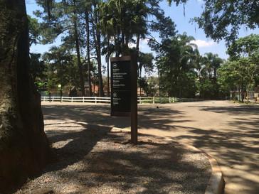 Sinalização em Madeira Plástica para o Parque Estadual Alberto Löfgren - Horto Florestal