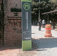 Sinalização em Madeira Plástica para o Parque Chácara Baronesa