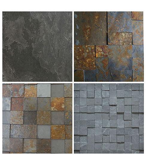 Ardósia - Trabalhamos com pedras 100% naturais