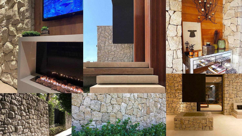 Pedra Moledo - Trabalhamos com pedras 100% naturais