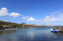 Craighouse and the Paps of Jura